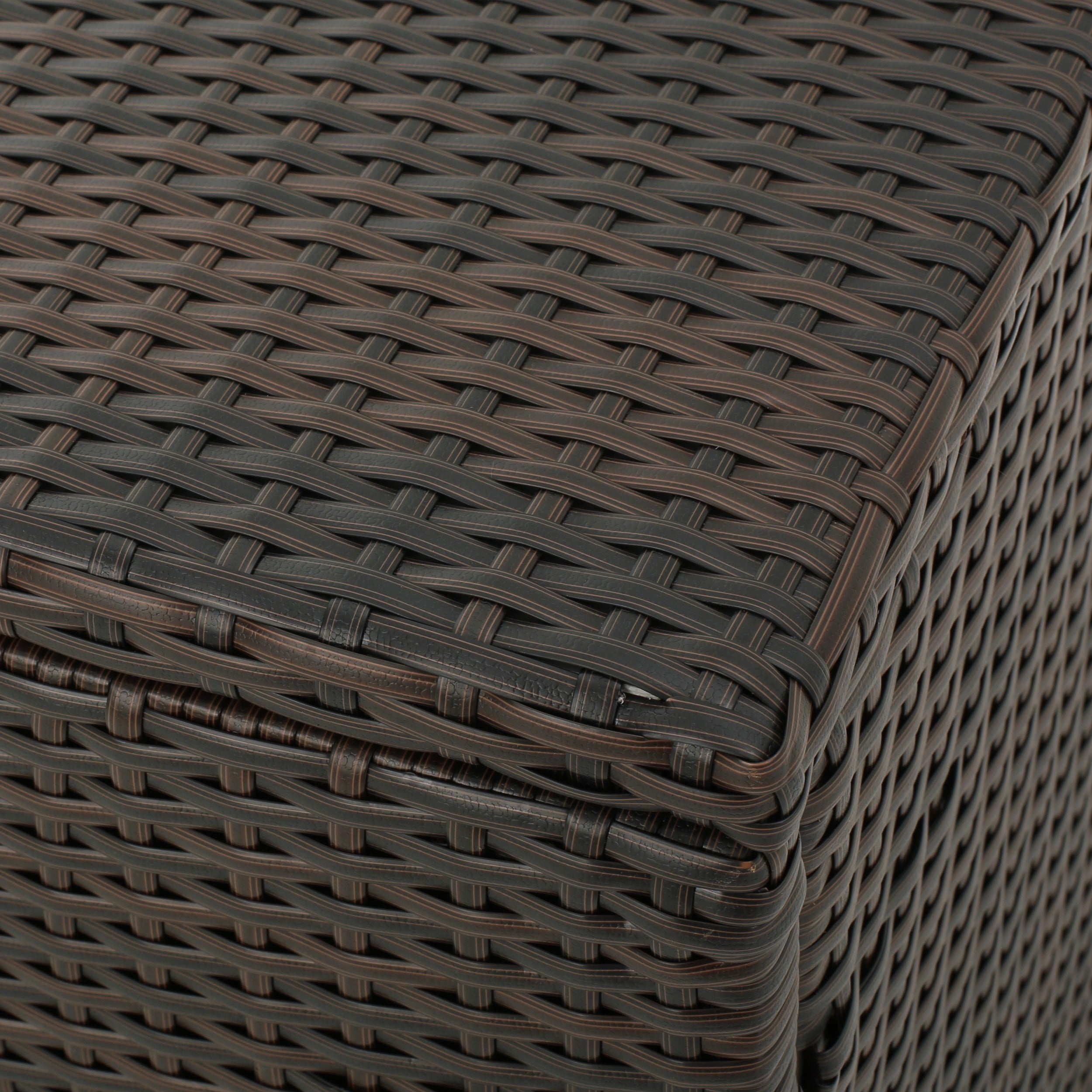 Shop Santa Rosa Outdoor Wicker Storage Box by Christopher Knight Home - Free Shipping Today - Overstock.com - 13165181 & Shop Santa Rosa Outdoor Wicker Storage Box by Christopher Knight ...