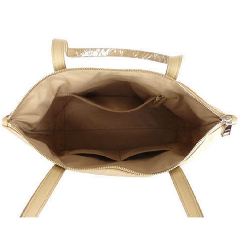 Shop Coach Tan 35500 Nylon Zip Tote On Sale Free Shipping Today 13169568