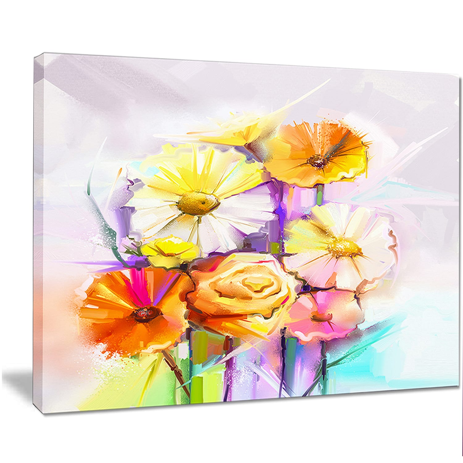 Luxury Floral Wall Art Motif - The Wall Art Decorations ...