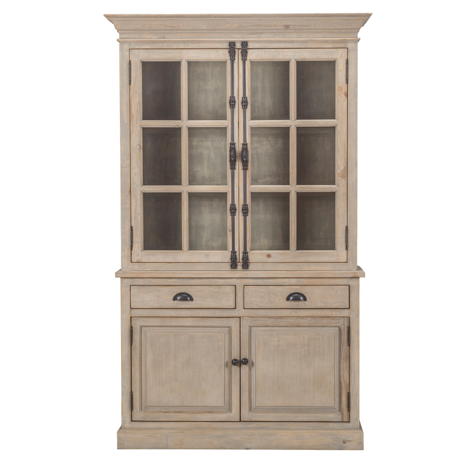 Wilson Reclaimed Wood 53-inch China Cabinet by Kosas Home - Free Shipping  Today - Overstock.com - 19902061
