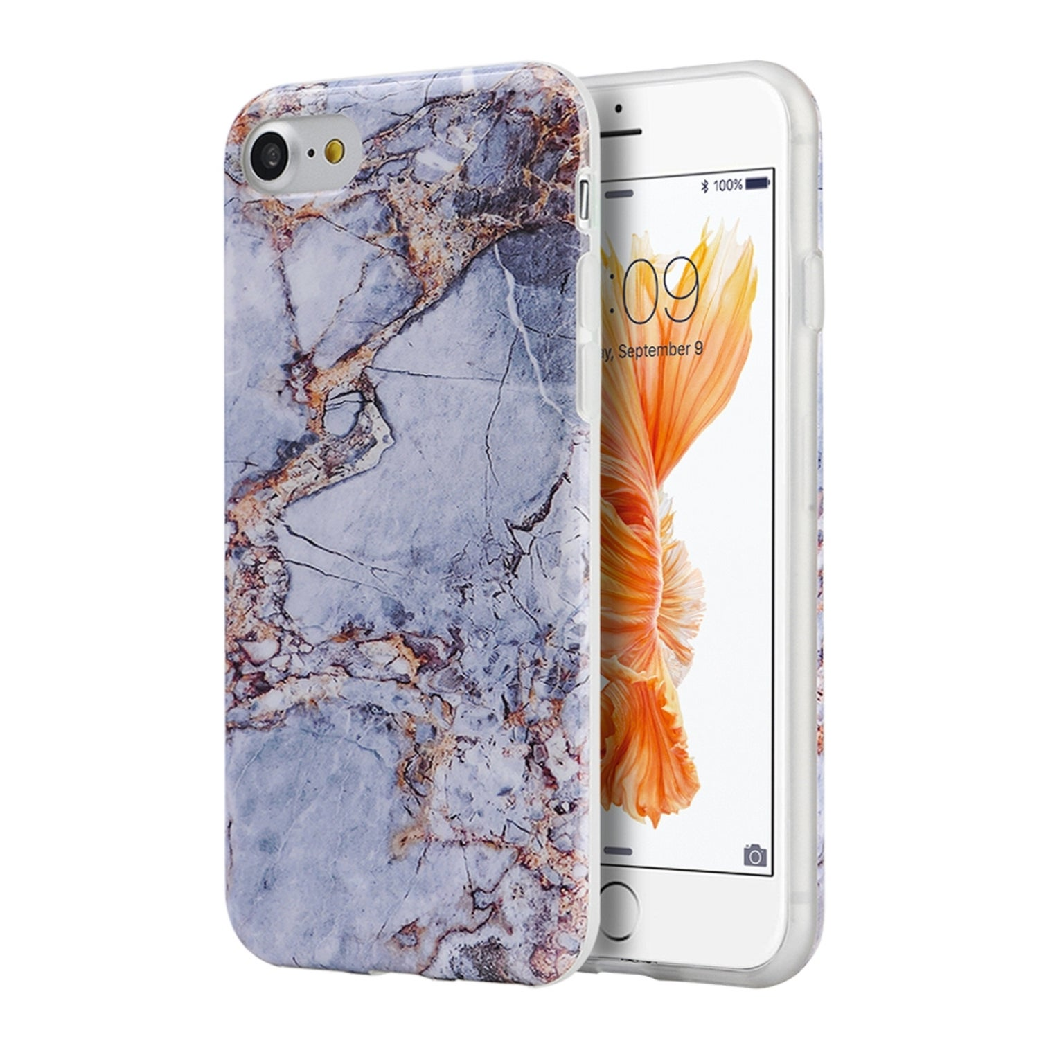 Sweepstake iphone 7 plus case marble gold