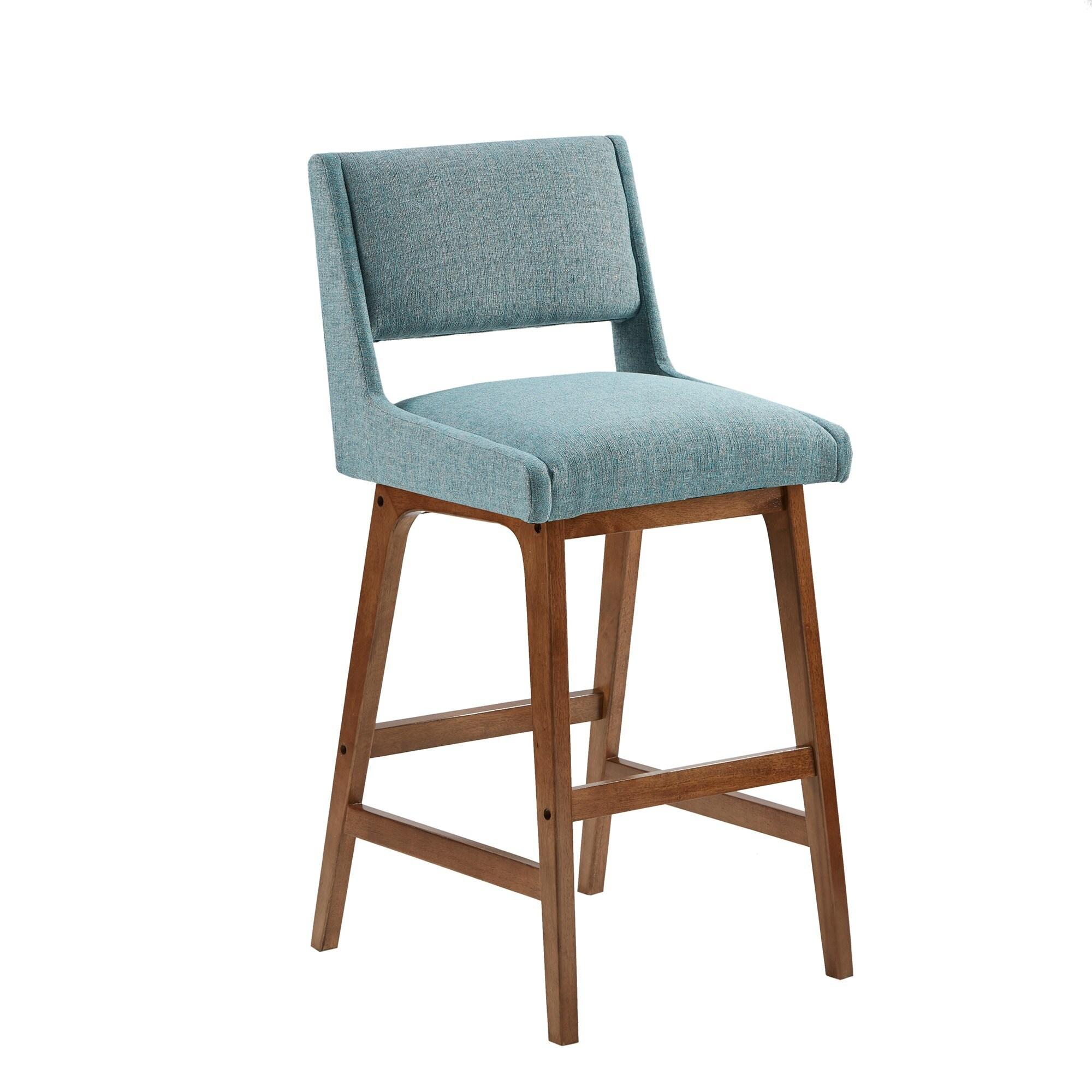 bar today stools linon shipping agatha laurel bridgeport product creek stool blue garden overstock free home