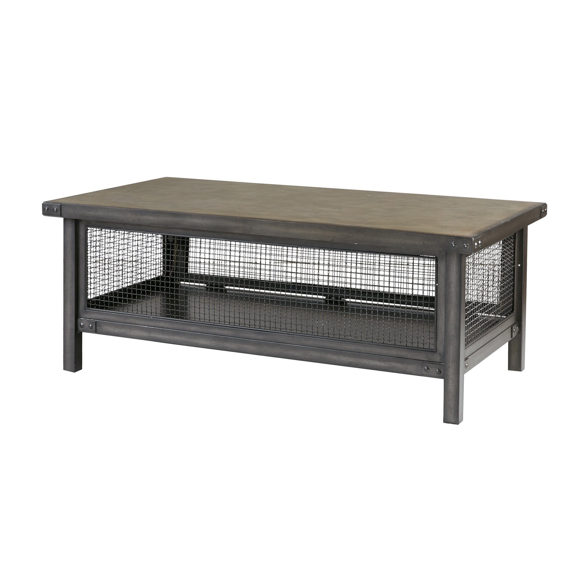 Ink+Ivy Cody Grey Storage Coffee Table  Free Shipping Today