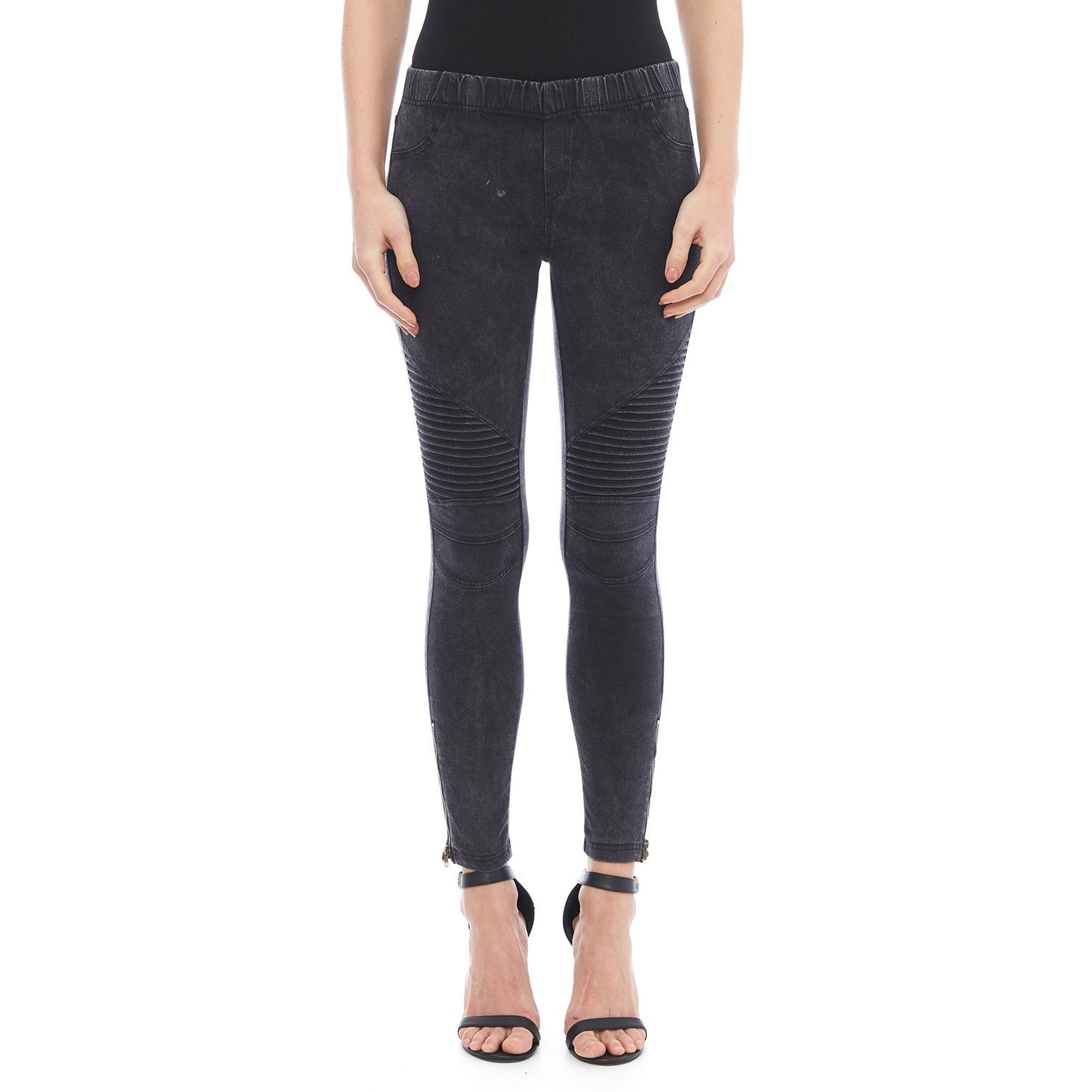 bff135399ae93 Shop Beulah Moto Stretch Legging - Free Shipping Today - Overstock -  13218488