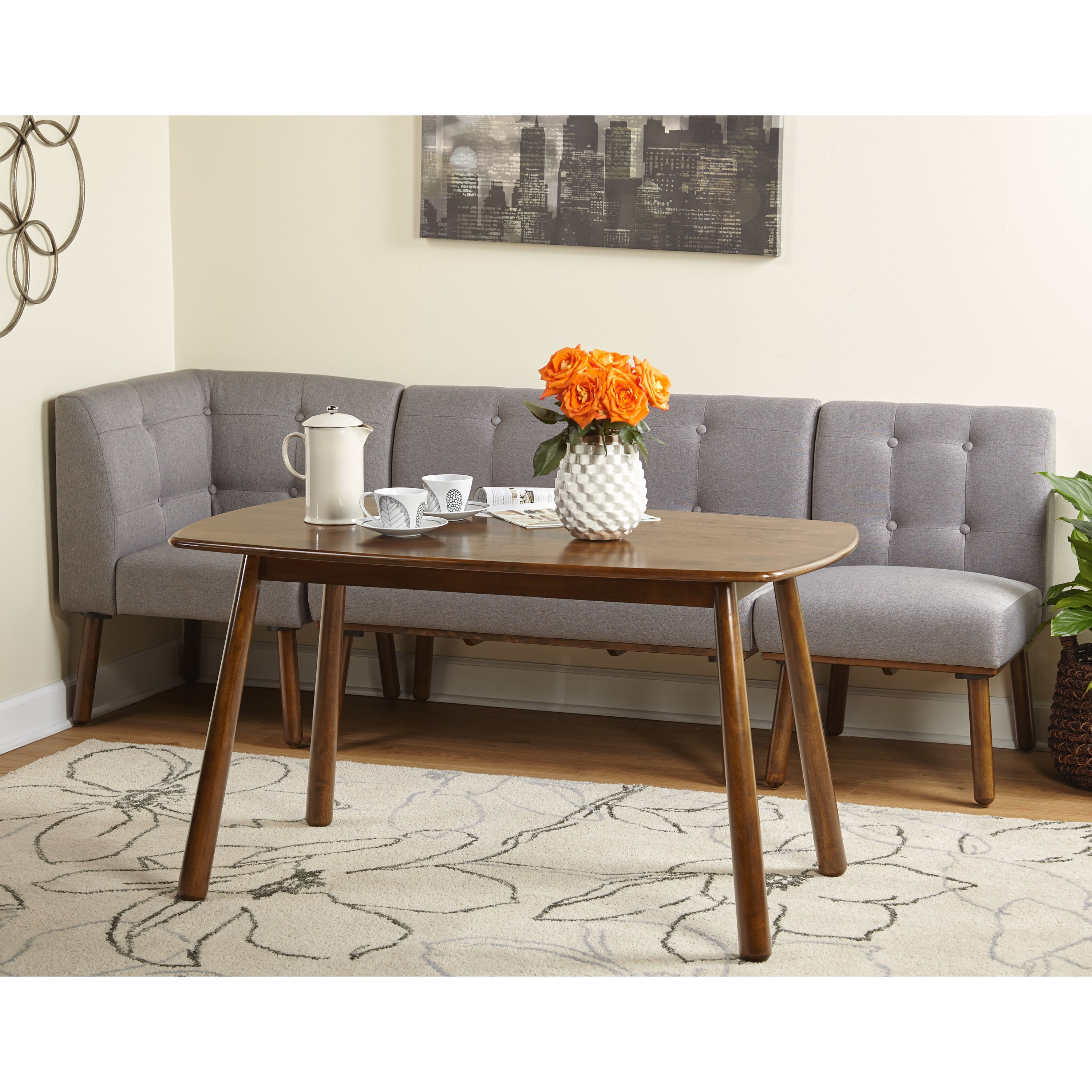 High Quality Shop Simple Living 4 Piece Playmate Living/Dining Room Set   Free Shipping  Today   Overstock.com   13223540