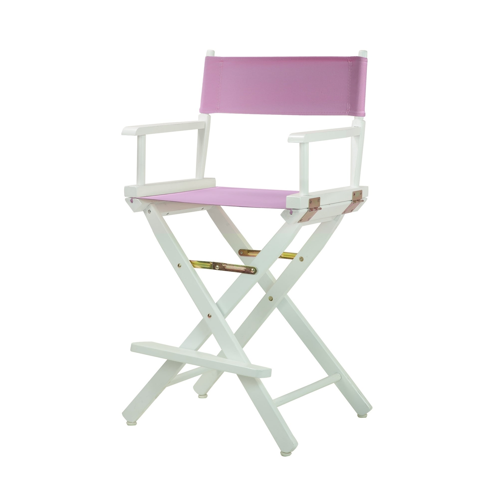 Shop White Frame 24 Inch Directoru0027s Chair   Free Shipping Today    Overstock.com   13223913