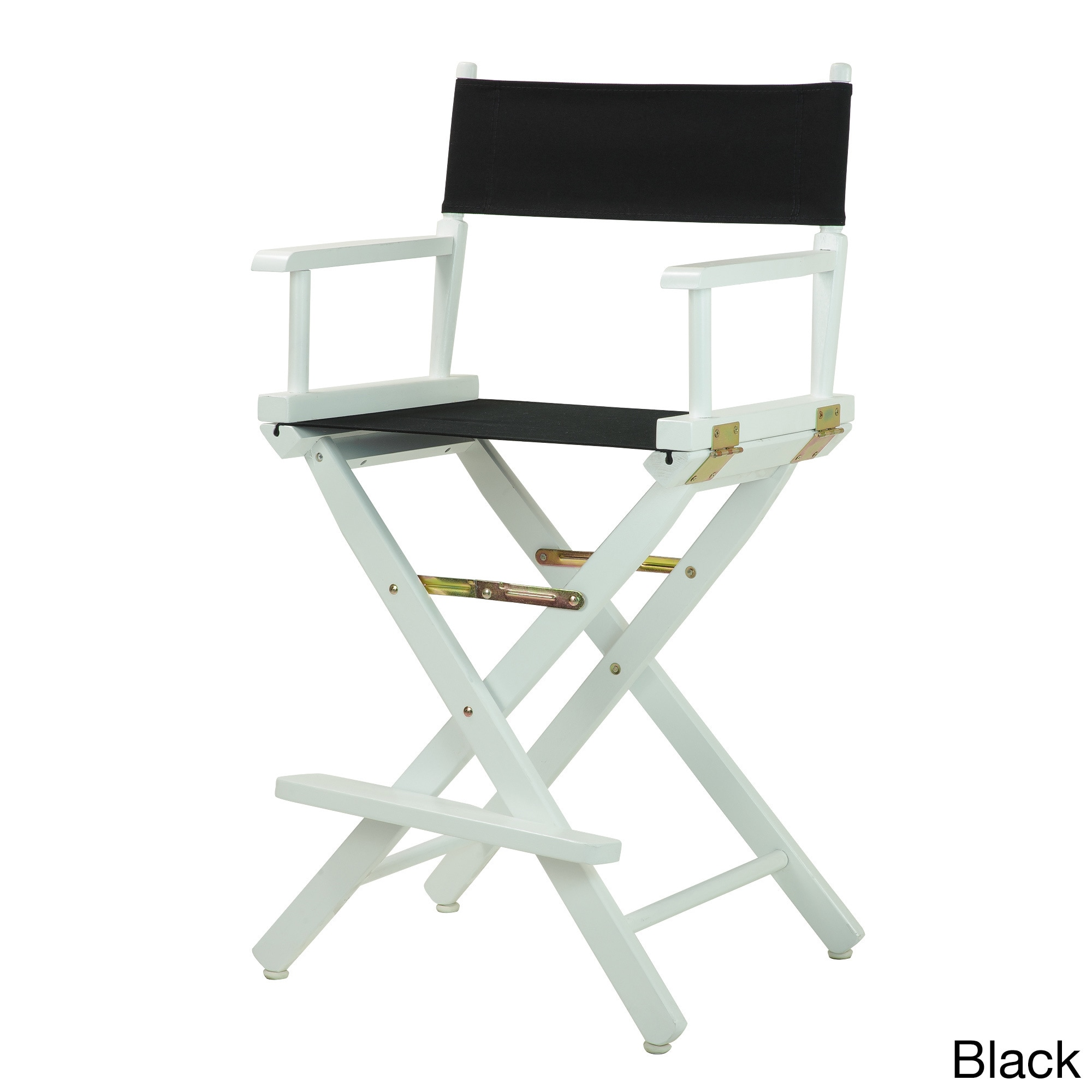 Charming White Frame 24 Inch Directoru0027s Chair   Free Shipping Today   Overstock    19941442