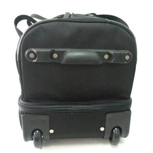 44839e210b2d Shop Denco L300 Series Chicago Cubs Black Ballistic Nylon 27-inch Rolling  Drop-bottom Duffel Bag - On Sale - Free Shipping Today - Overstock.com -  13242188