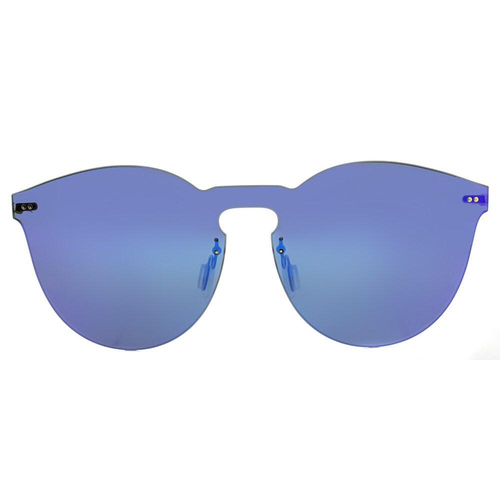 46dda2a08a5 Shop Illesteva Leonard II Mask LM2-42 Royal Blue Plastic Round Royal Blue  Mirror Lens Sunglasses - Free Shipping Today - Overstock - 13250636