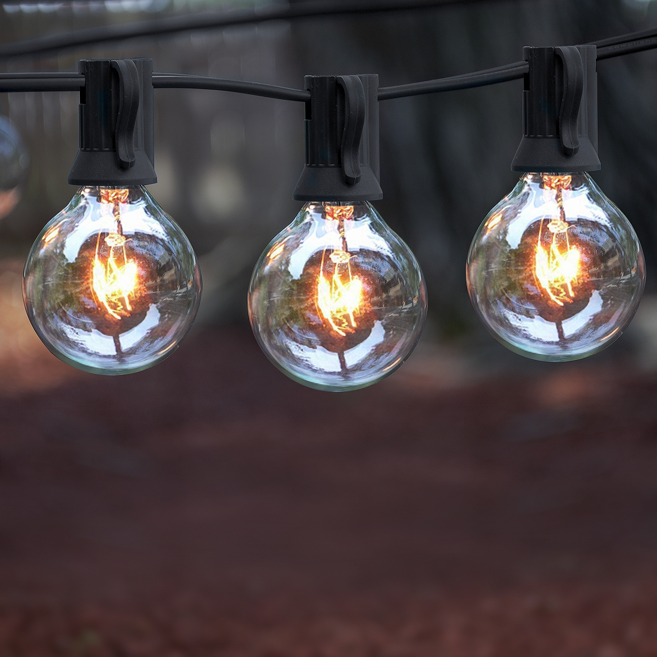 Concepts Warm White 25-bulb Outdoor String Lights - Free Shipping On Orders  Over $45 - Overstock.com - 19965023