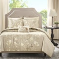 Madison Park Essentials Sonora Taupe Complete Coverlet 8 Piece Set