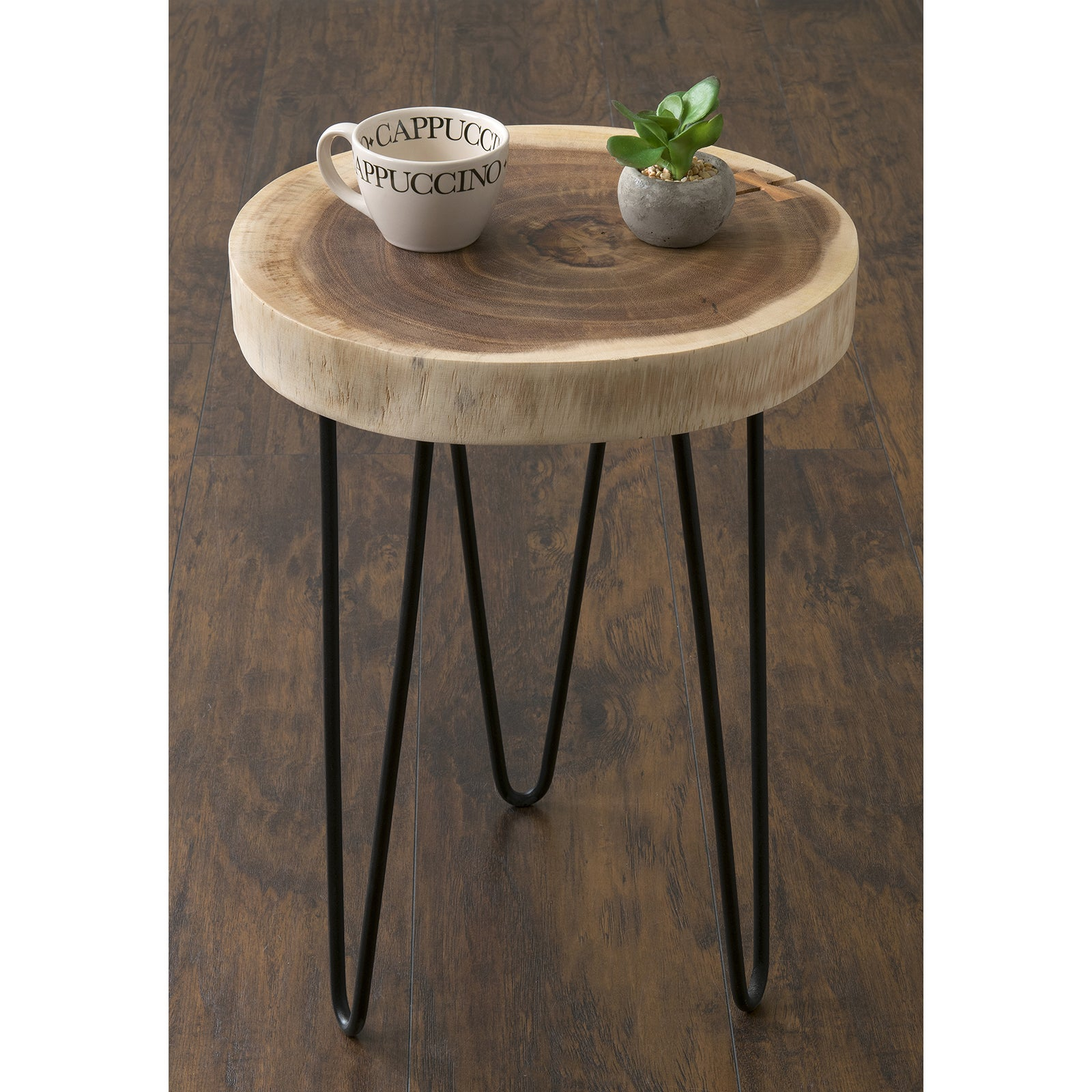 Shop Pine Canopy Nantahala Brown Teakwood Round Accent Table   On Sale    Free Shipping Today   Overstock.com   20254266