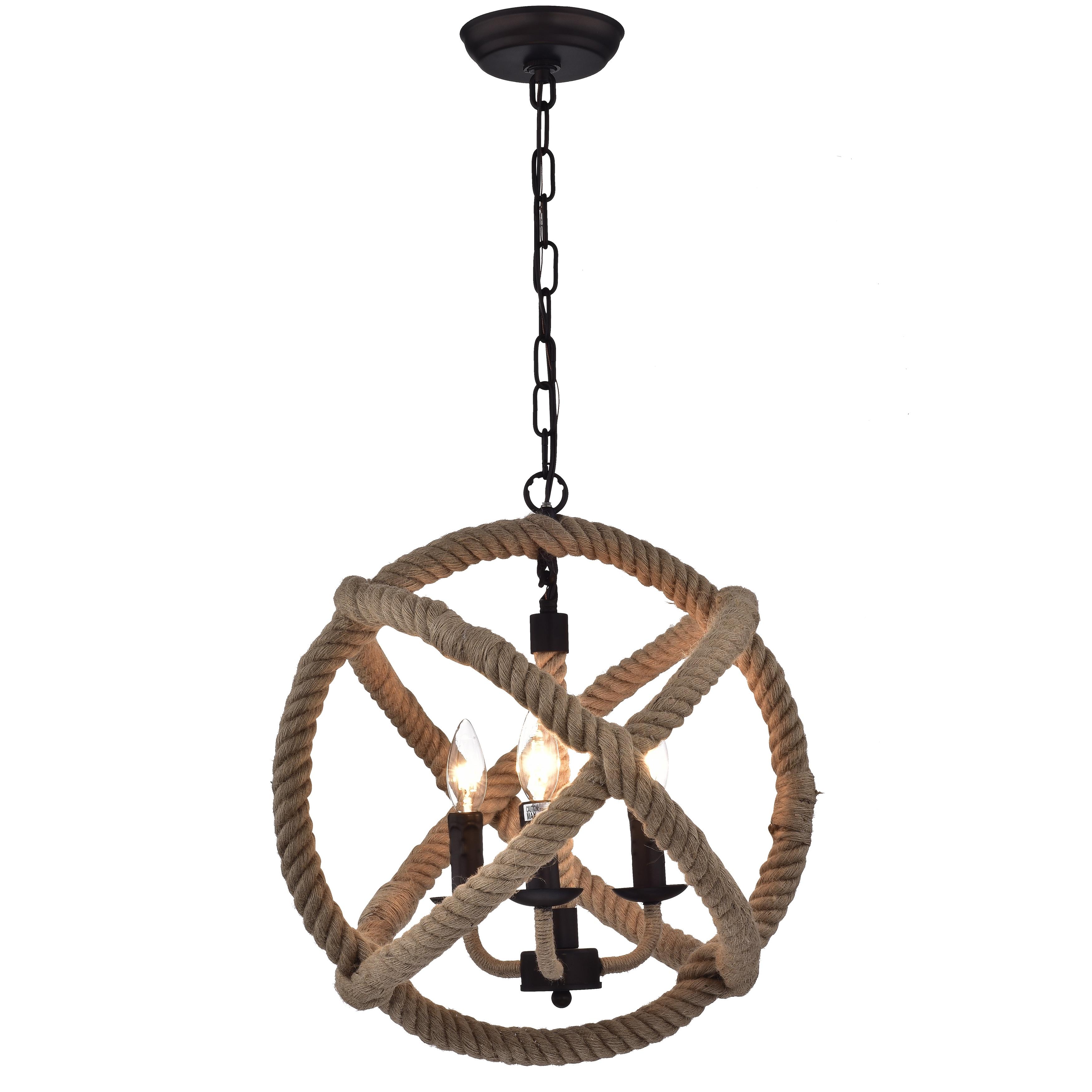 Twirlie 165 inch hemp rope antique bronze metal chandelier free twirlie 165 inch hemp rope antique bronze metal chandelier free shipping today overstock 19967483 arubaitofo Image collections