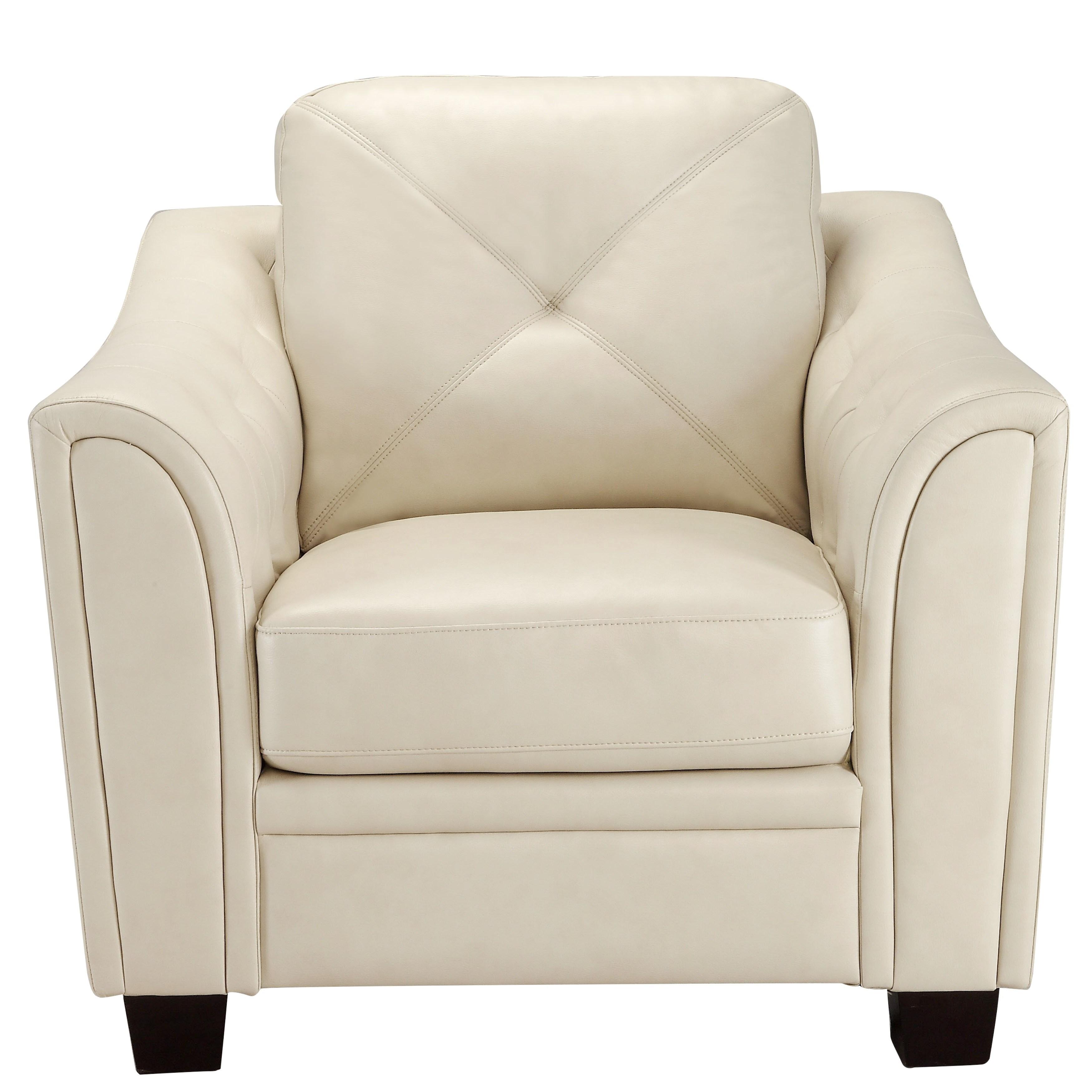 Shop Lacasta Mid Century Modern Tufted Design Cream Living Room Sofa ...