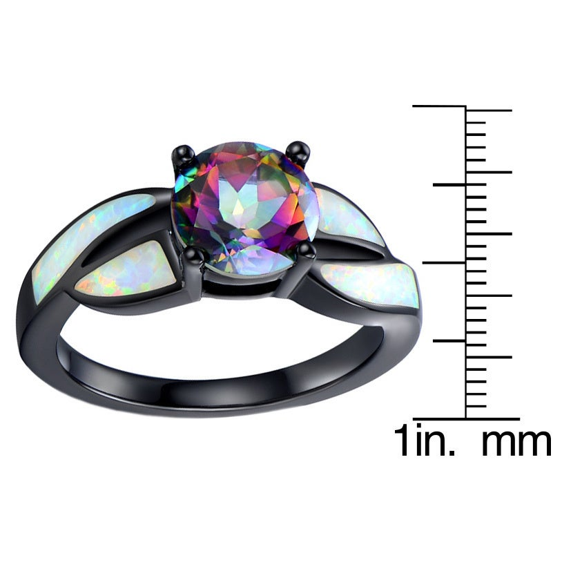 fire black w topaz ring coleman klugex marquise mystic direct shaped gemstone gold blackhillsgold rings solid ladies hills