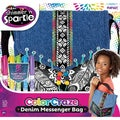 Cra-Z-Art Shimmer 'N Sparkle Color Craze Denim Messenger Bag Kit
