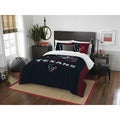 The Northwest Co NFL Houston Texans Draft Full/Queen 3-piece Comforter Set