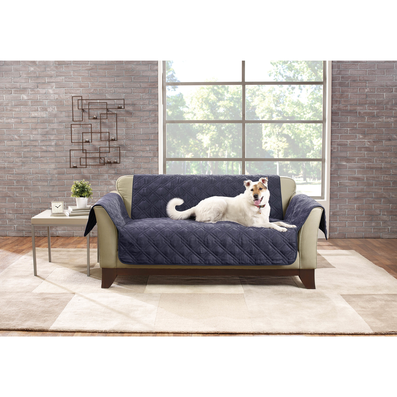 Sure Fit Deluxe Non Slip Waterproof Loveseat Furniture Protector