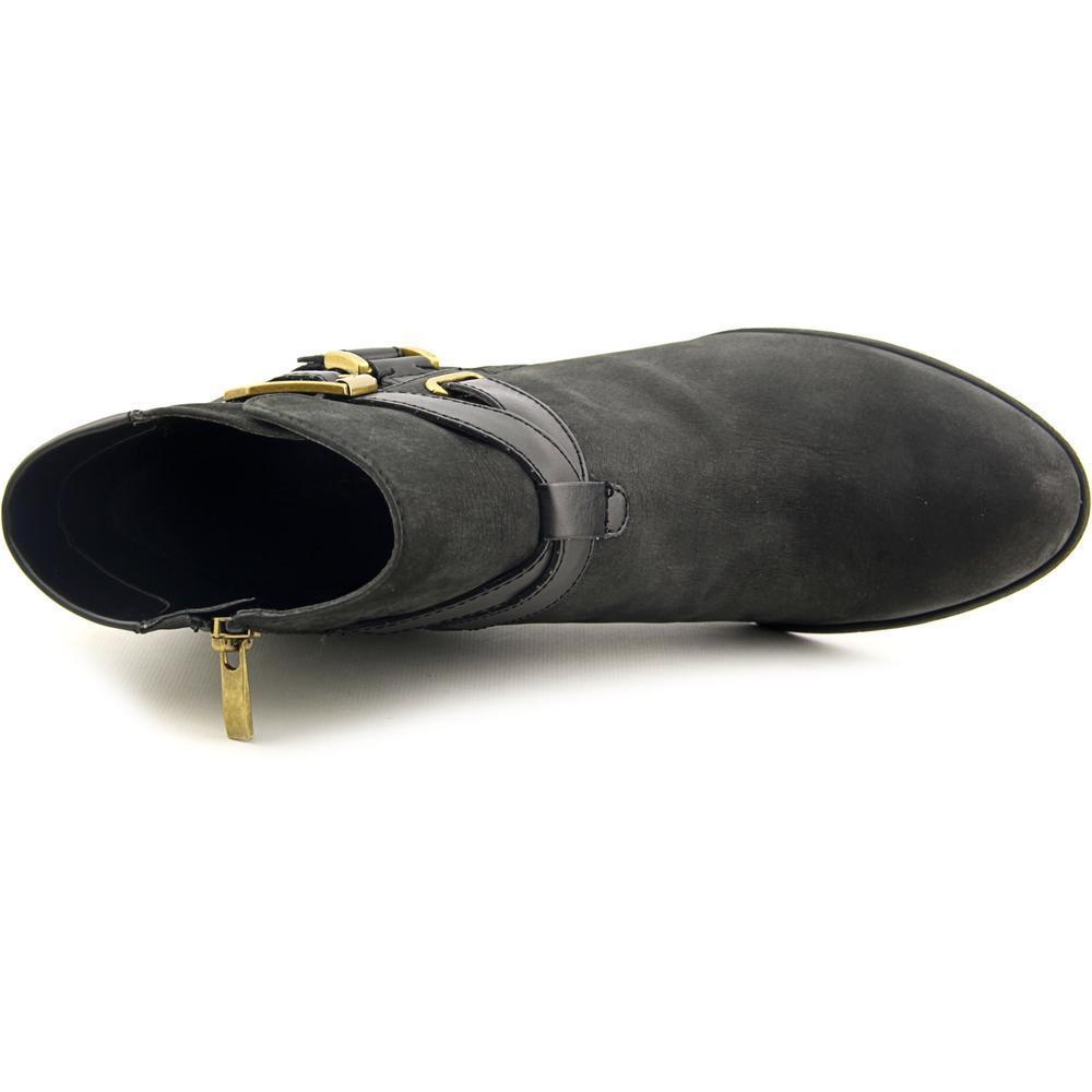 5bcfb495ed0 Franco Sarto Women's 'Delight' Black Leather Boots