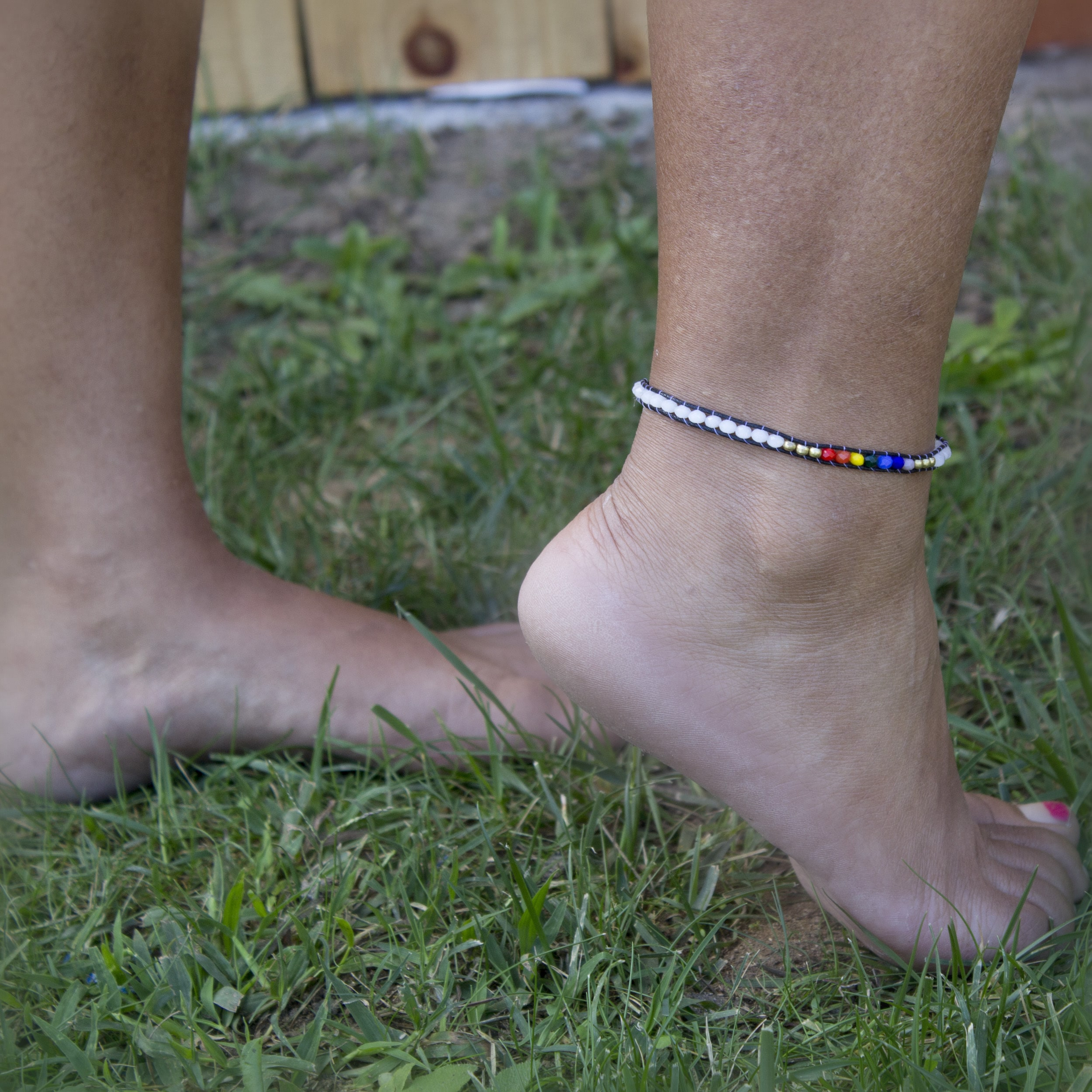 gray bracelet white tennis belk gold silverworks anklet unisex silver fashion p sterling jewelry