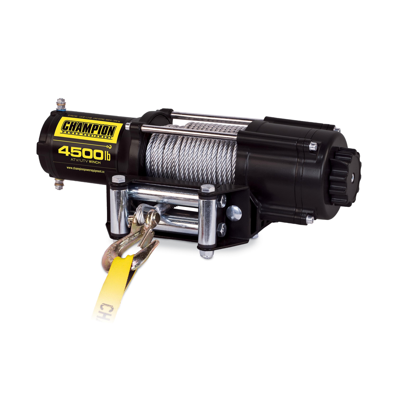 Shop Champion 4500 Lb Atv Utv Wireless Winch Kit 12 Volt Dc Motor Wiring Harness Free Shipping Today 13262388
