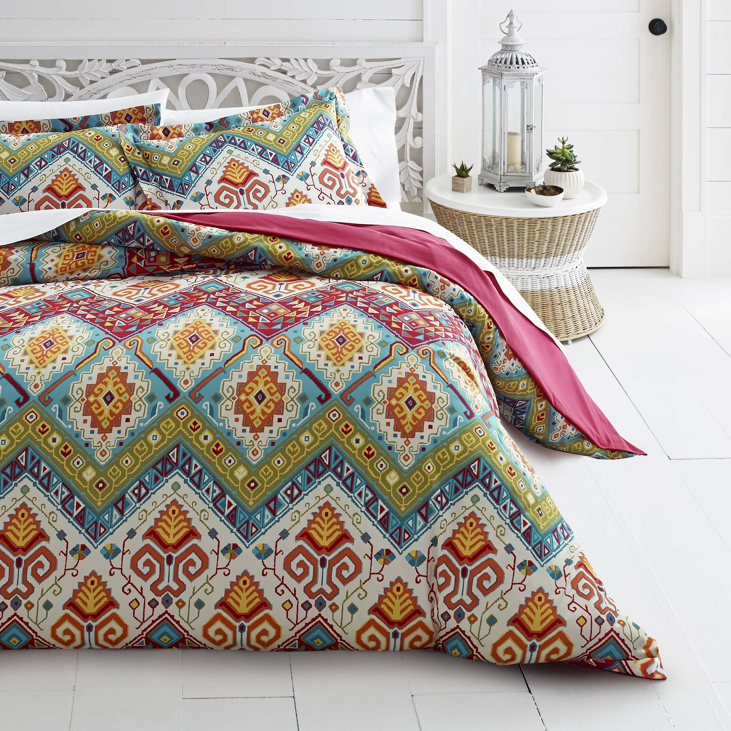 overstock free quilt bath moroccan cover set nights on azalea today duvet sale shipping skye product bedding