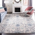 Safavieh Madison Bohemian Cream/ Light Grey Rug (5' 1 x 7' 6)