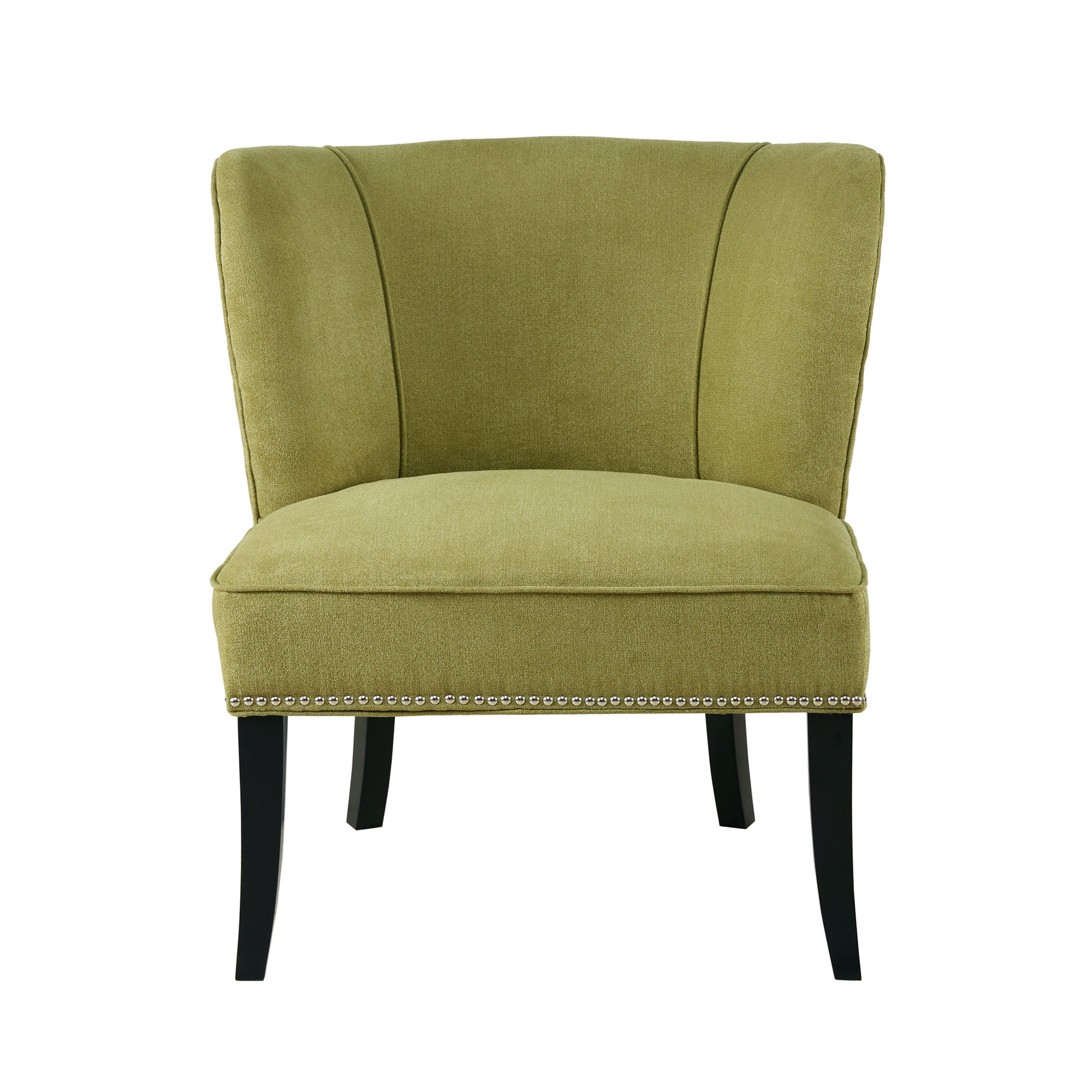 Shop Madison Park Sheldon Green Armless Accent Chair   Free Shipping Today    Overstock.com   13285044