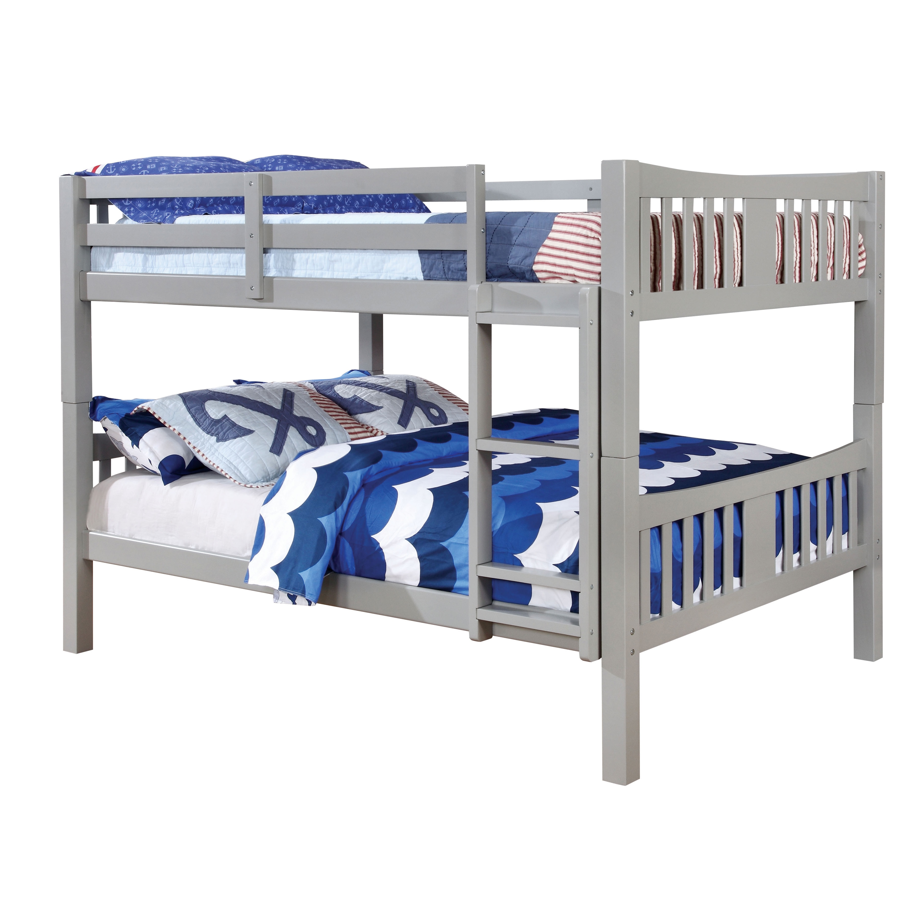 staircase product with over bunk bed gardner at white full