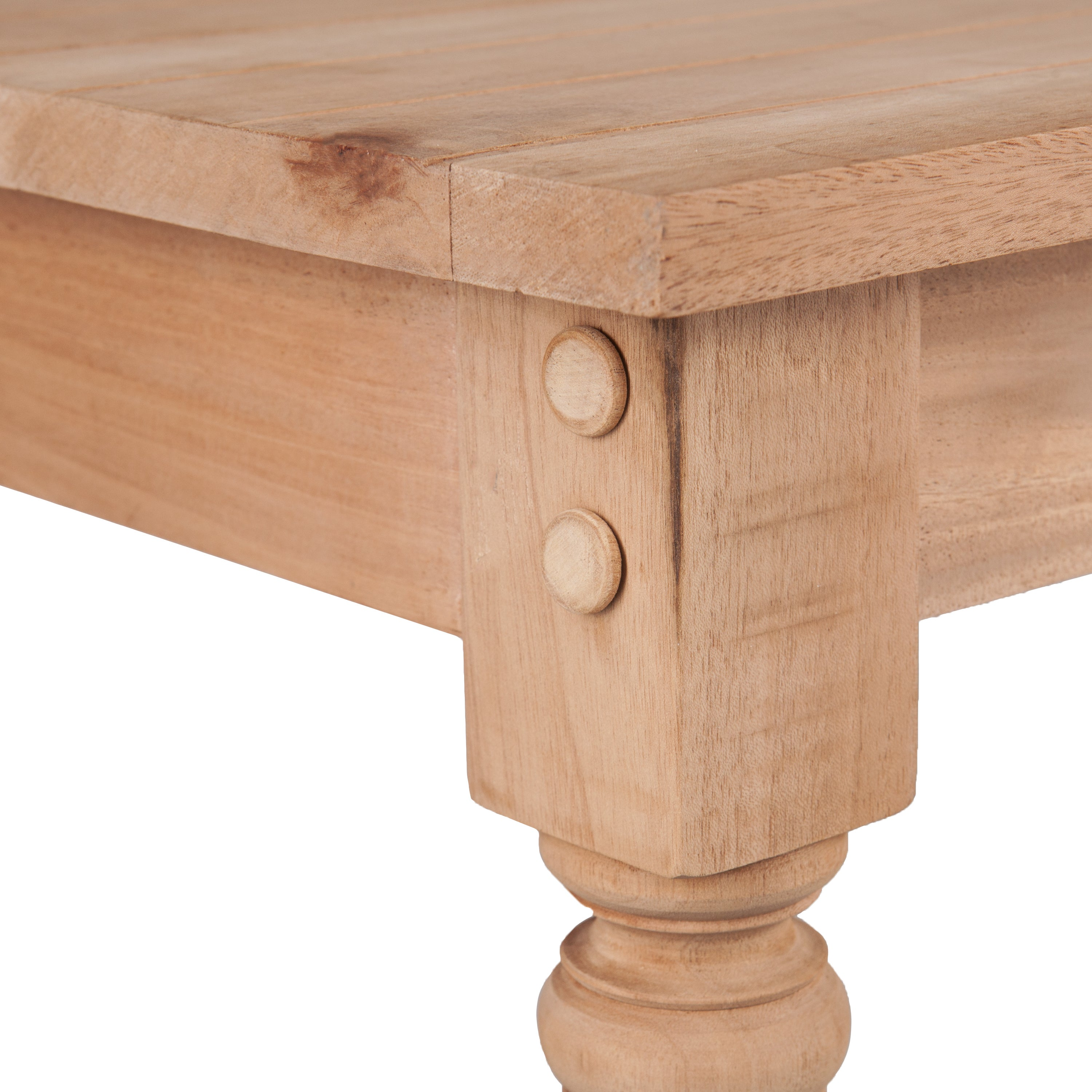 Shop Harper Blvd Hepburn Unfinished Wood Console Table   Free Shipping  Today   Overstock.com   13287483