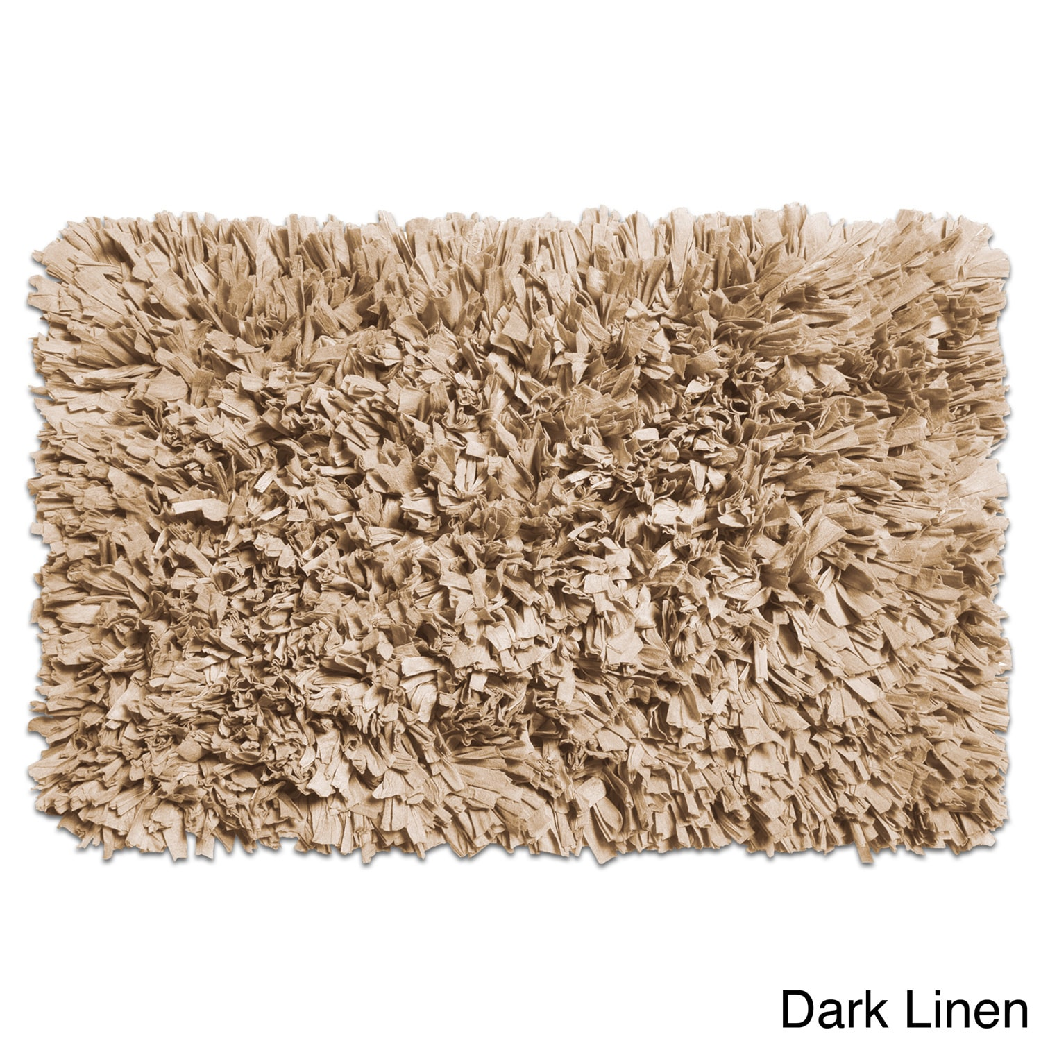 Charmant Shop Cotton Blend Paper Shag Bath Rug In Assorted Colors   Free Shipping On  Orders Over $45   Overstock.com   13287624