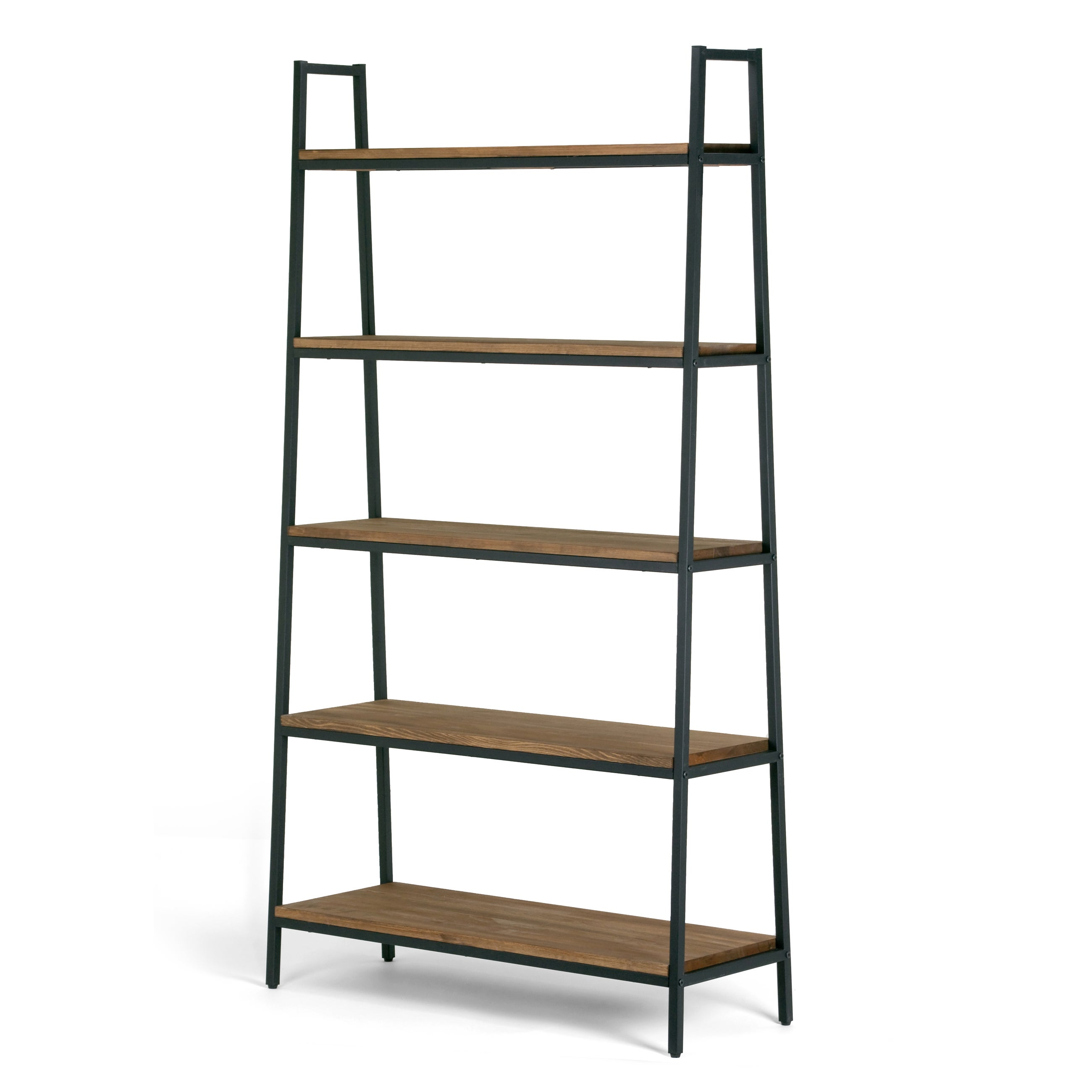 make looks awesome office amazing decorative bookshelf and your wood that corner canadian shelves can metal tire