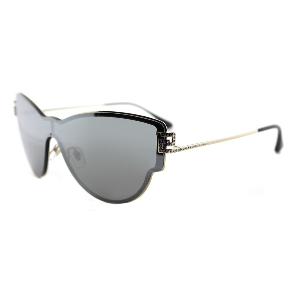 015ec470a30 Shop Versace VE 2172B 12526G Embellished Pale Gold Metal Cat-Eye Silver  Mirror Lens Sunglasses - On Sale - Free Shipping Today - Overstock.com -  13290100