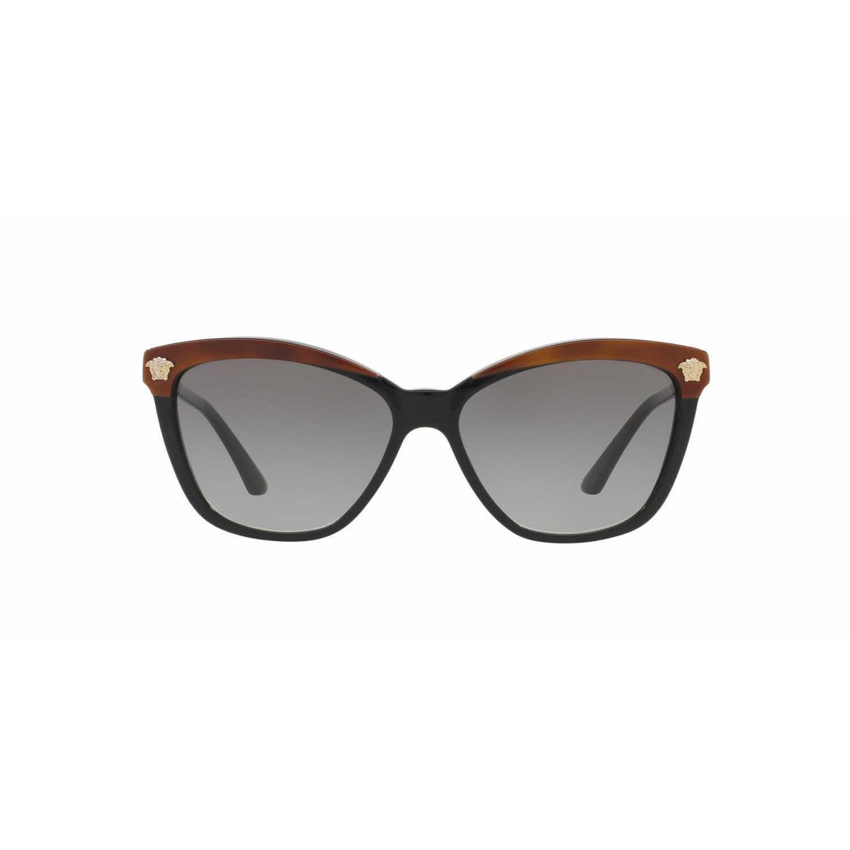 97c000cef6846 Shop Versace Women VE4313 518011 Black Plastic Rectangle Sunglasses - Free  Shipping Today - Overstock - 13292105