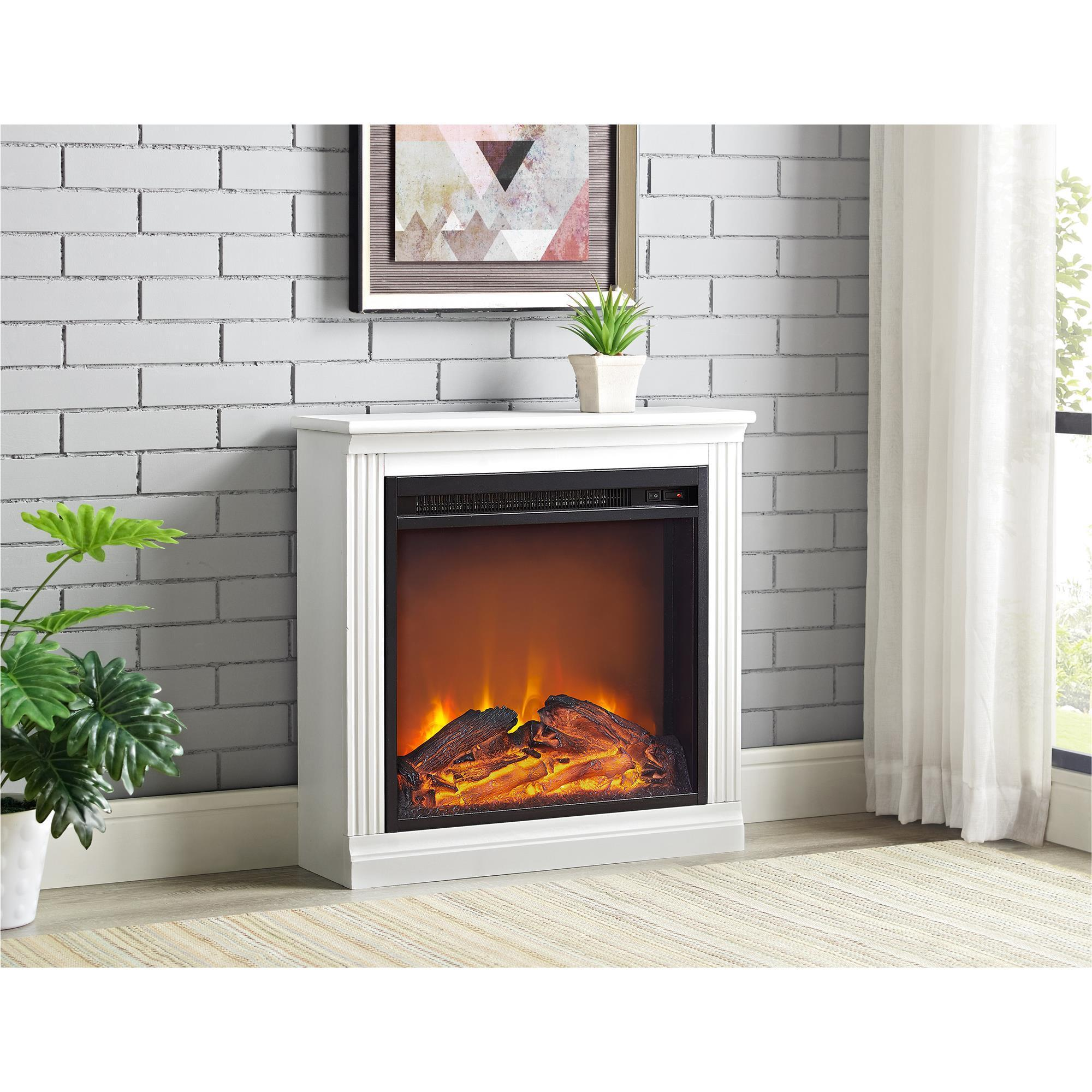 Shop Ameriwood Home Bruxton Electric Fireplace Free Shipping Today