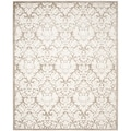 Safavieh Amherst Indoor/ Outdoor Wheat/ Beige Rug (10' x 14')