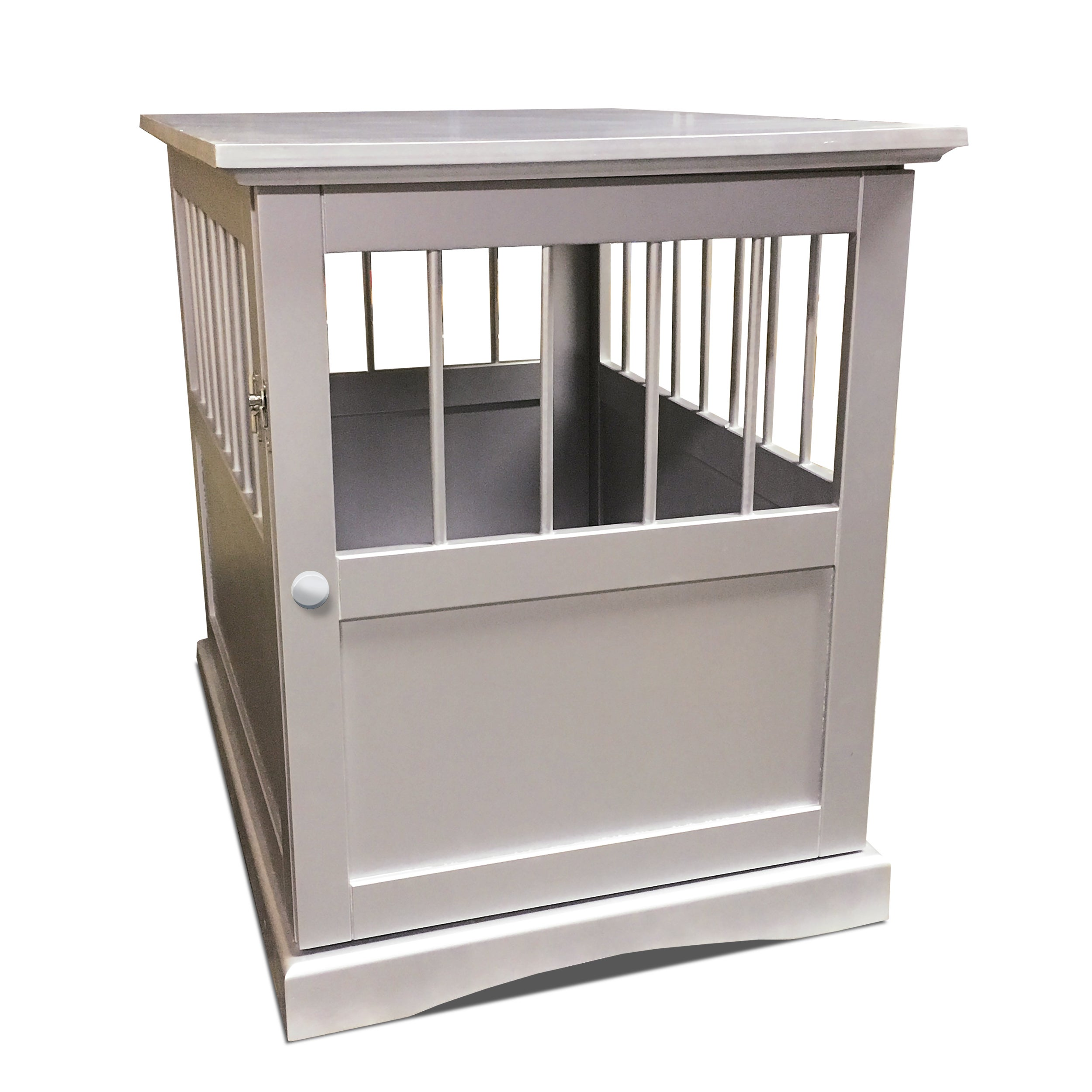Shop Furhaven Dog Crate Furniture End Table Free Shipping Today Jpg  2500x2500 Shipping Crate Furniture Small