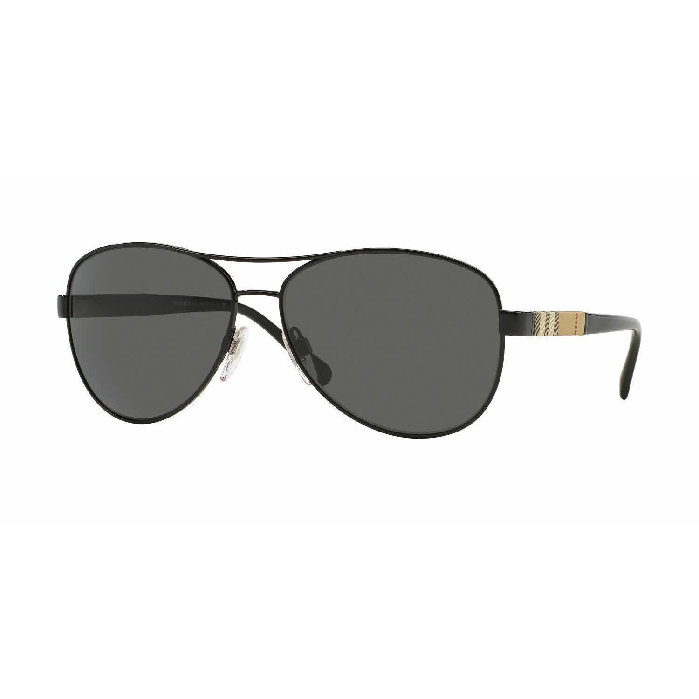 cf5338cd2600 Shop Burberry Women BE3080 100187 Black Cateye Sunglasses - Free Shipping  Today - Overstock.com - 13298268