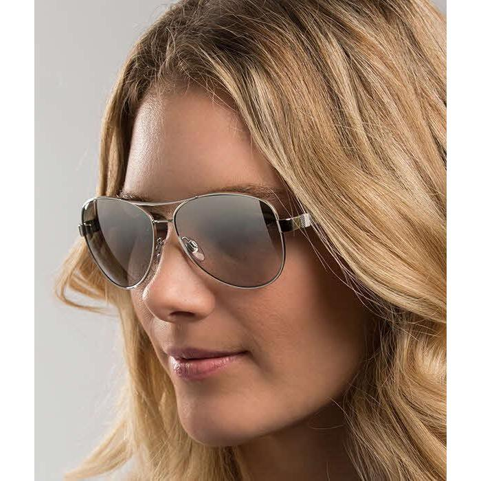 c7c2334ec9 Shop Burberry Women BE3080 10056V Silver Cateye Sunglasses - Free Shipping  Today - Overstock - 13298309