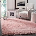 Safavieh Polar Light Pink Shag Rug (9' x 12')