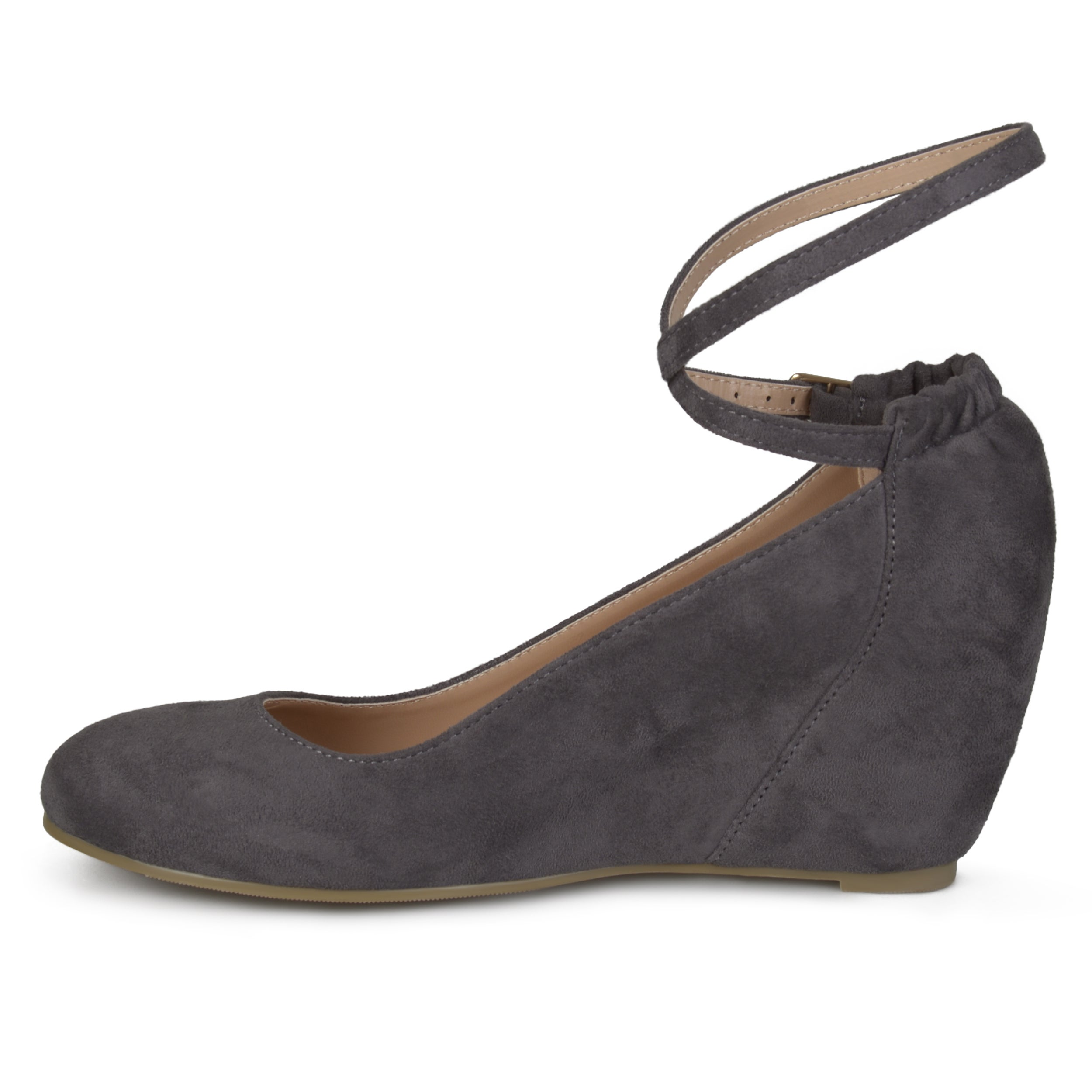 46a2ac0115d Shop Journee Collection Women s  Tibby  Faux Suede Wedges - Free Shipping  On Orders Over  45 - Overstock - 13304483