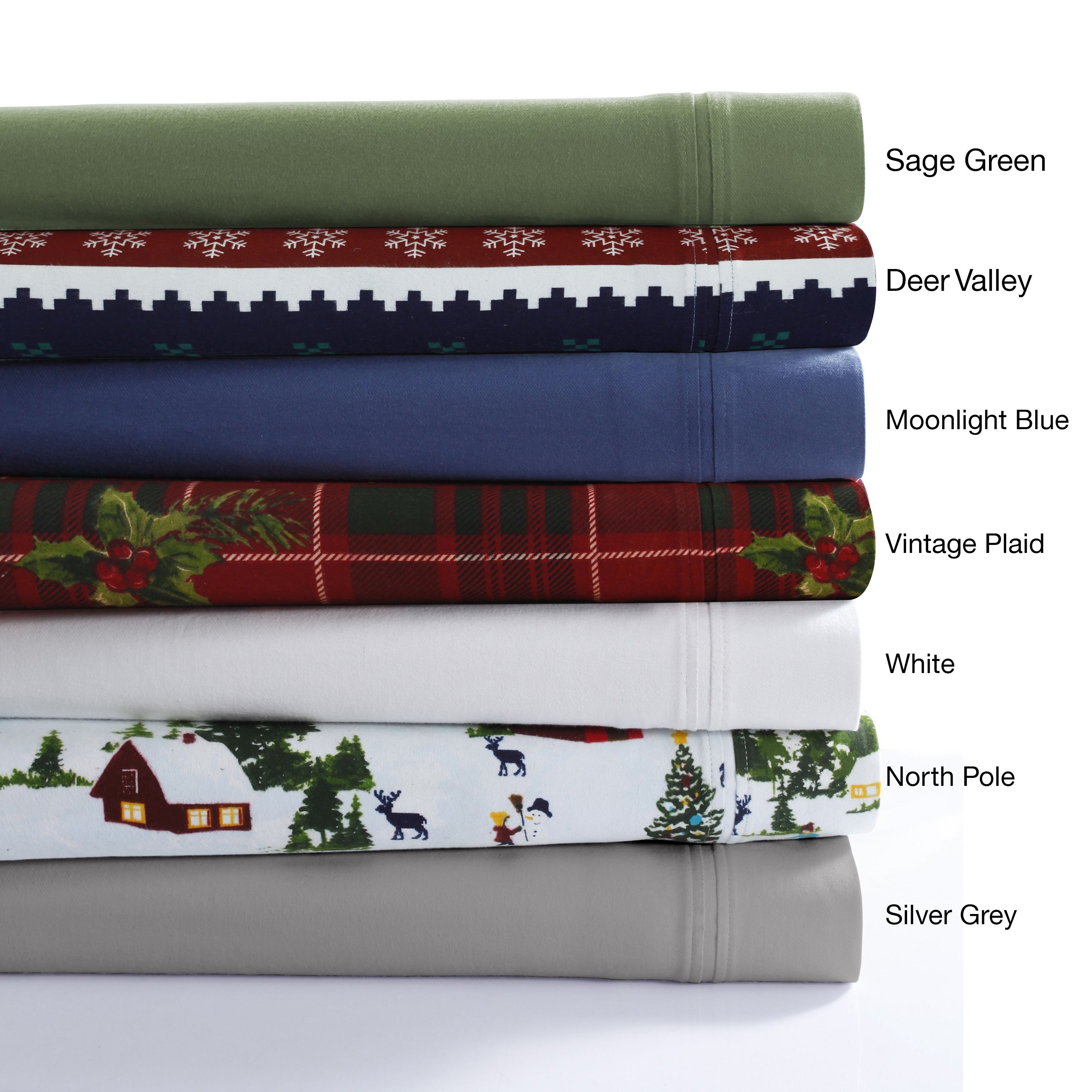 Shop 230 GSM Cotton Flannel Extra Deep-pocket Sheet Set with Oversize Flat  - Free Shipping Today - Overstock - 13308804 094902455