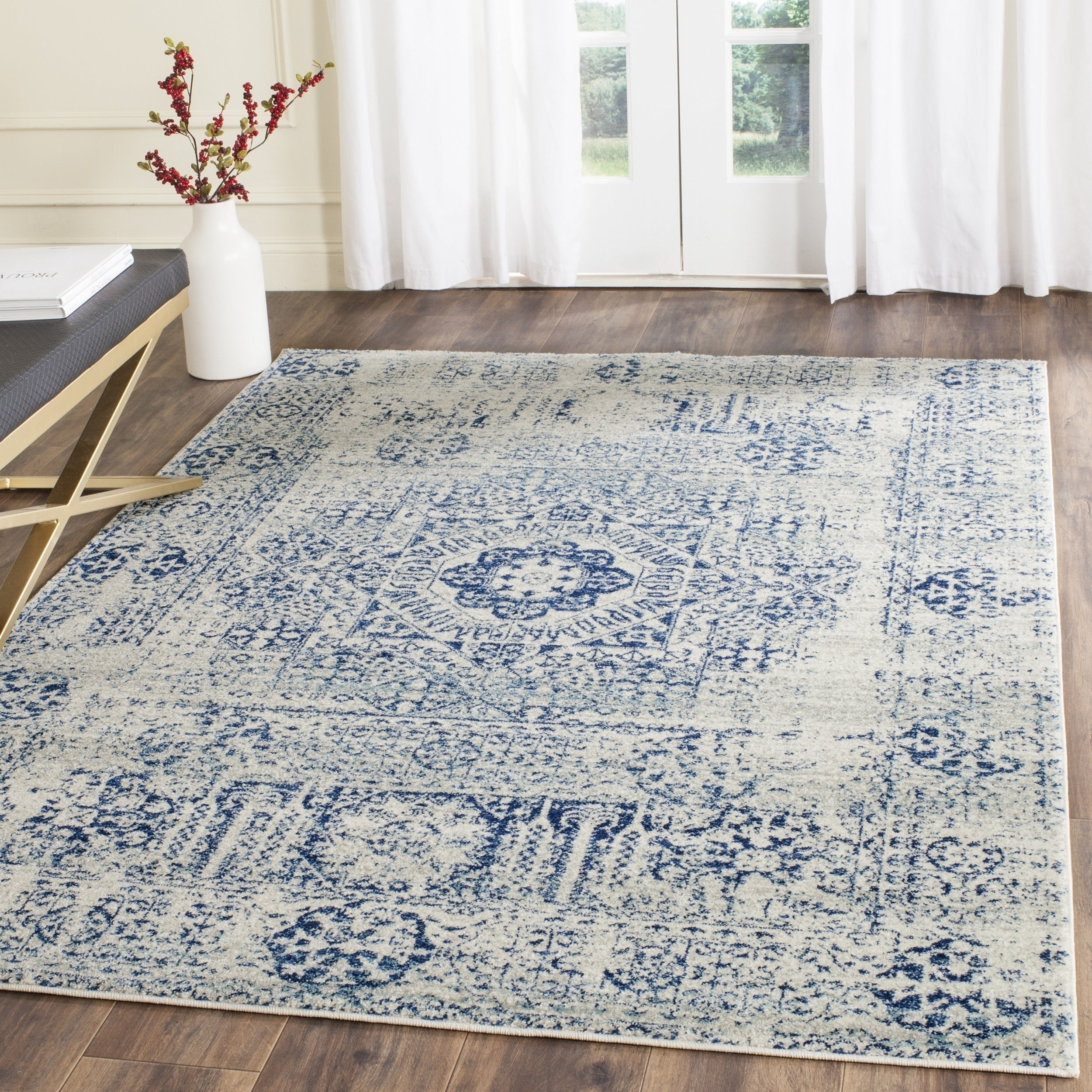 galleryfocus gallery x oversized rugs hand in blue knotted overdyed closeout rug square