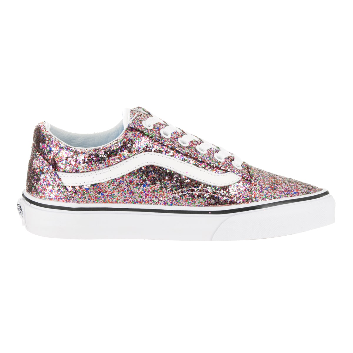 e728af2173 Shop Vans Unisex Old Skool True White and Multicolor Chunky Glitter Skate  Shoes - Free Shipping Today - Overstock - 13312163