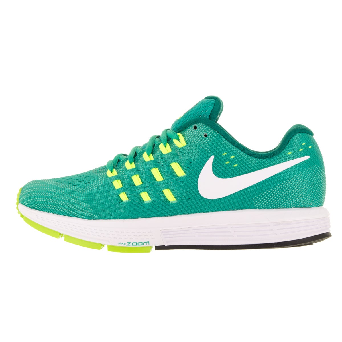 0d463003646 Shop Nike Women s Air Zoom Vomero 11 Clear Jade White Volt Rio Teal Running  Shoes - Free Shipping Today - Overstock - 13313199