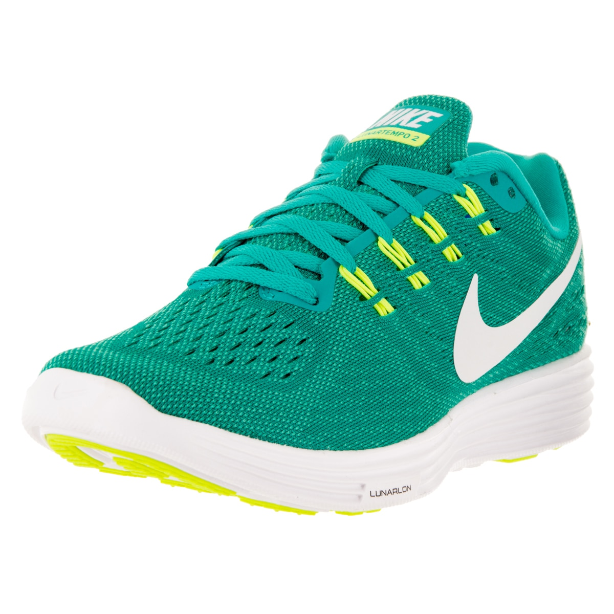 cheap for discount 97416 a9c73 ... reduced shop nike womens lunartempo 2 clear jade white hyper jade  violet running shoe free shipping