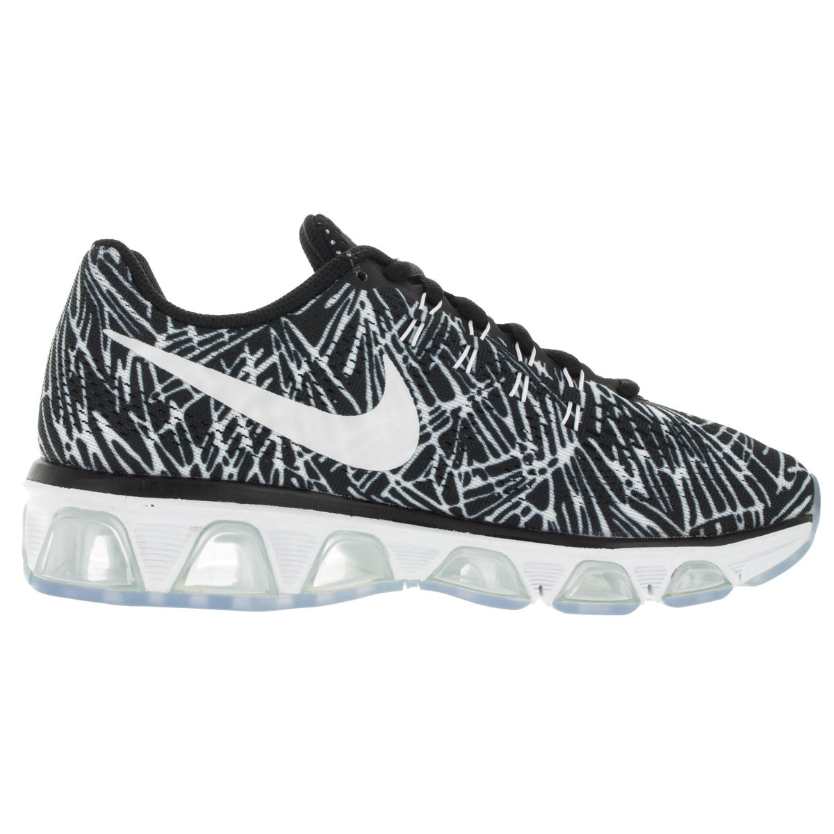 01d011a197 ... purchase shop nike womens air max tailwind 8 black white running shoe  free shipping today overstock
