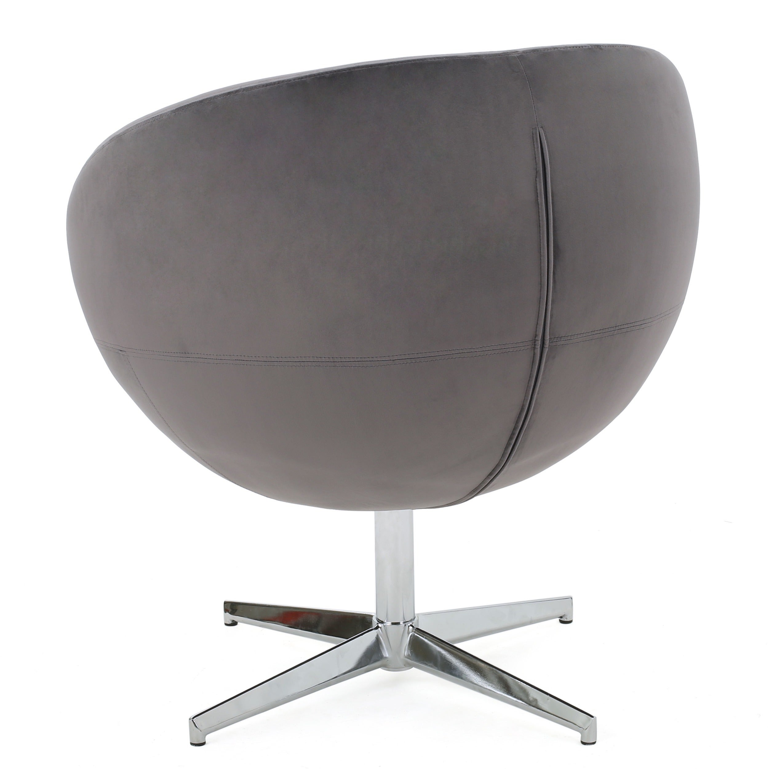 Shop Isla Velvet Fabric Roundback Modern Chair By Christopher Knight Home    On Sale   Free Shipping Today   Overstock.com   13318092