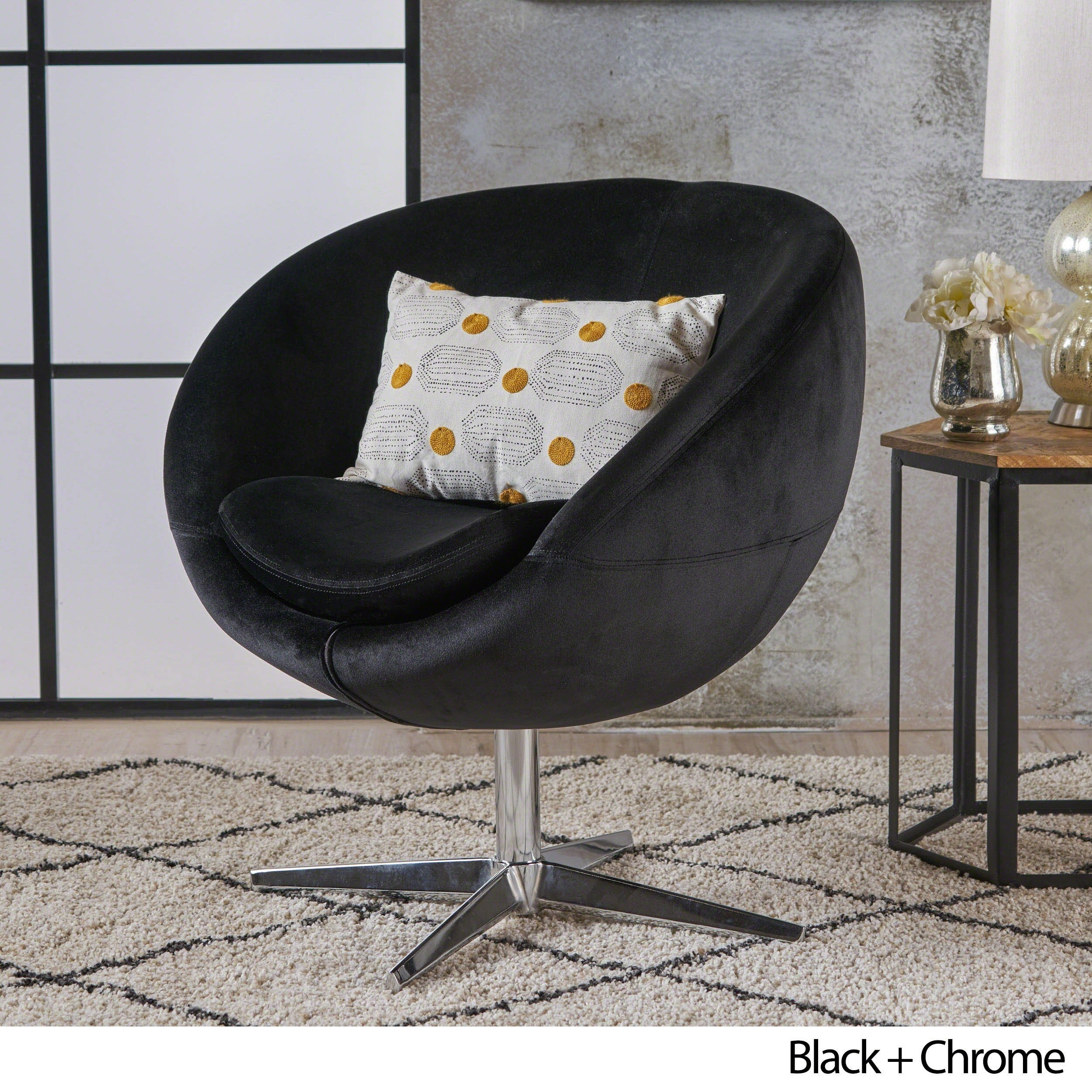 Isla Velvet Fabric Roundback Modern Chair By Christopher Knight Home   Free  Shipping Today   Overstock.com   20024005