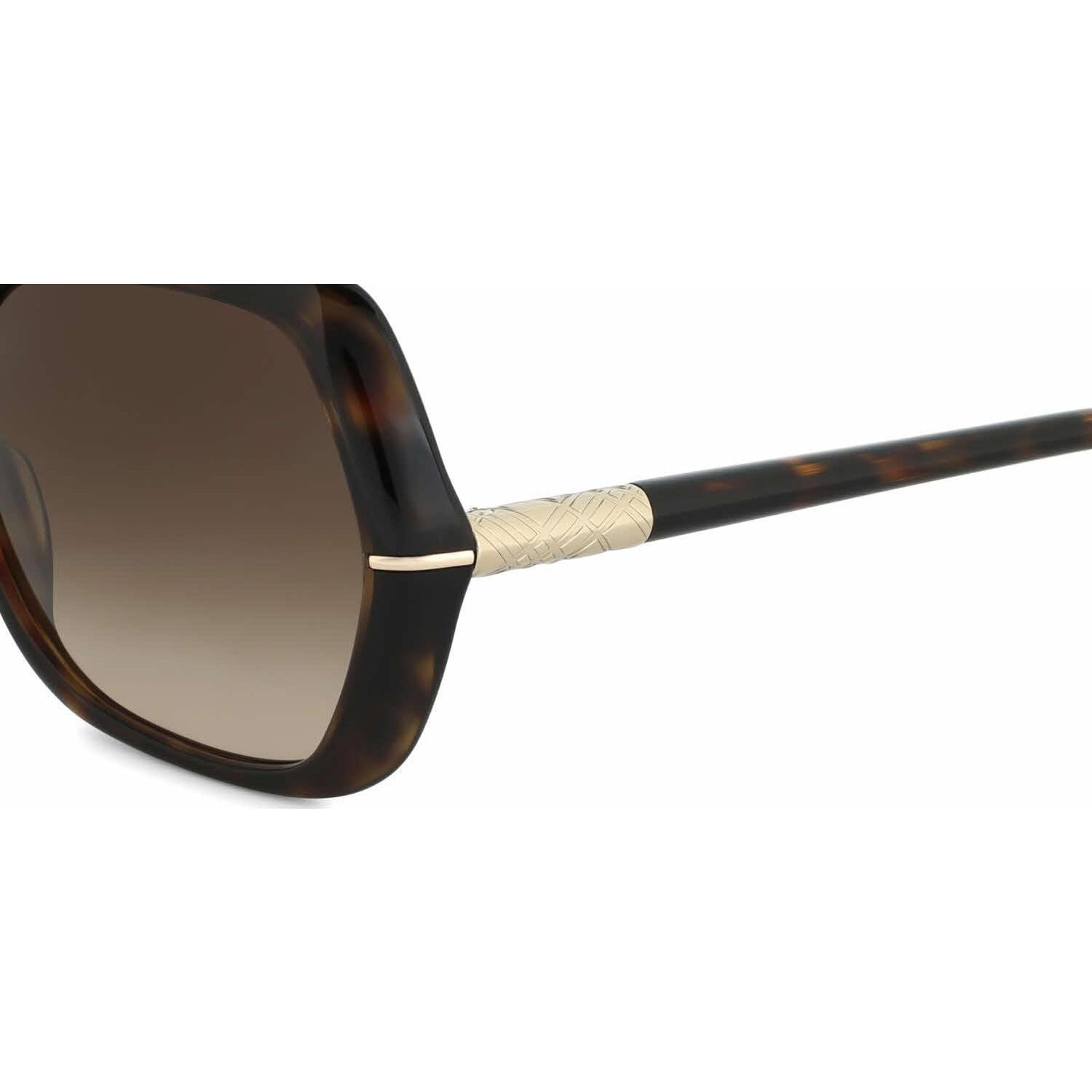 edf8a814f63a Shop Burberry Women BE4107 300213 Havana Plastic Irregular Sunglasses -  Free Shipping Today - Overstock - 13318771